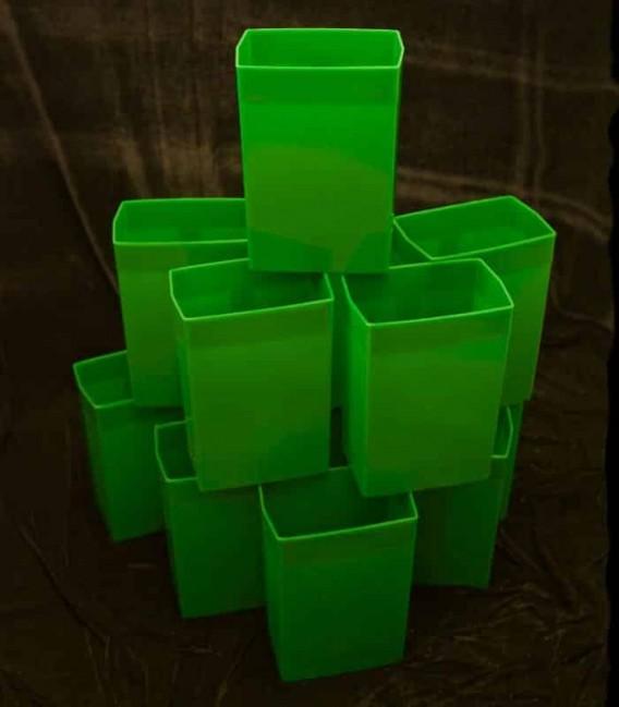 Set of 12 Green Luminaries