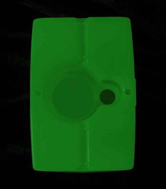 View of Green Luminary bottom