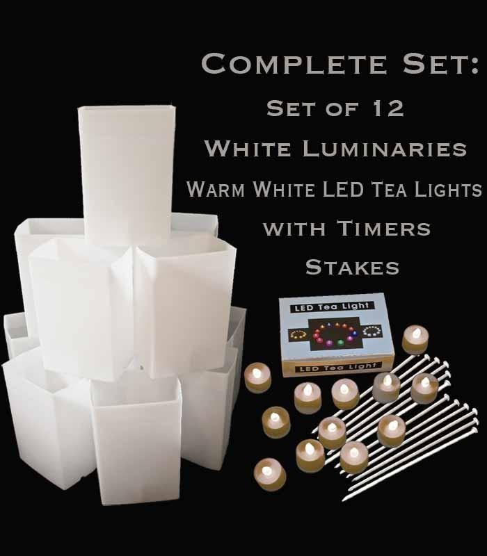 Led Tea Lights Stakes