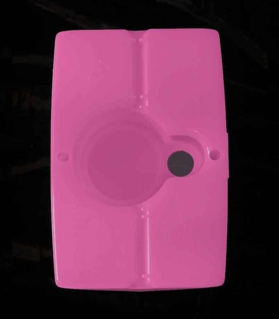 View of Pink Luminary bottom