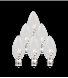 Set of 7 Replacement C7 Light Bulbs