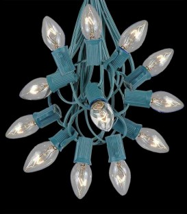 12 Socket Electric Light Strings