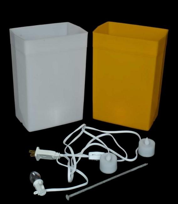 Combo Brown/White Luminary Kit