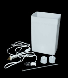 White Luminary Sample Kit