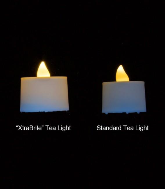 """XtraBrite"" Tea Lights"