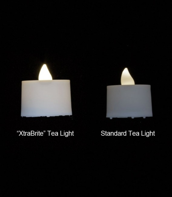 """XtraBrite"" Timer LED Tea Lights"