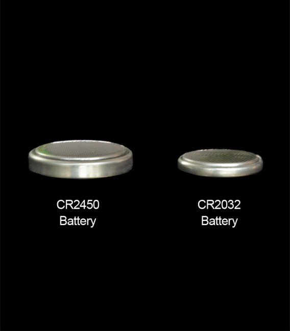 Comparing CR2450 with CR2032 Batteries
