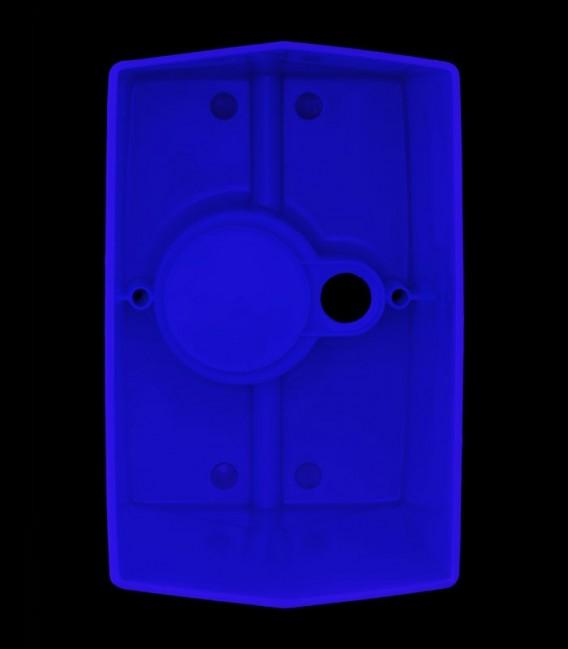 View inside Blue Luminary