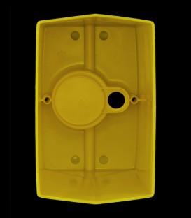 View inside Yellow Luminary
