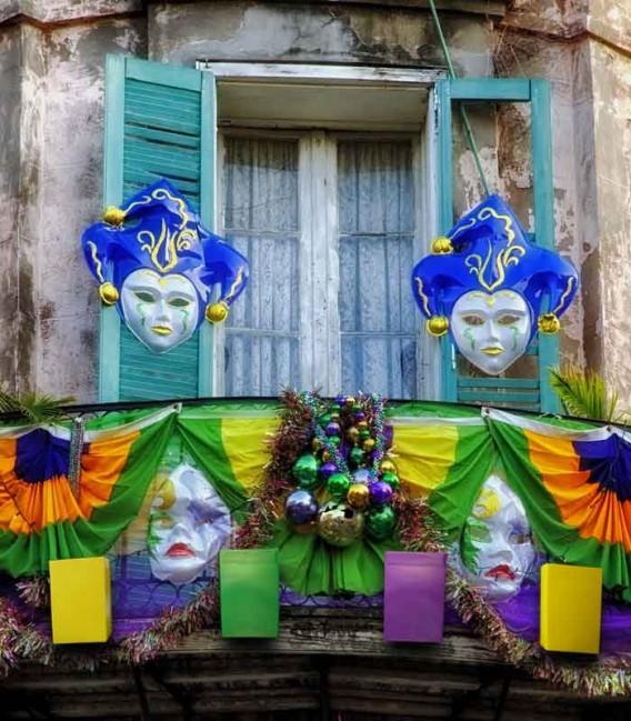 Mardi Gras Luminaries in New Orleans