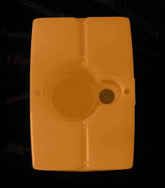 View of Brown Luminary bottom
