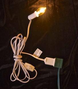 Single-socket C7 Light String