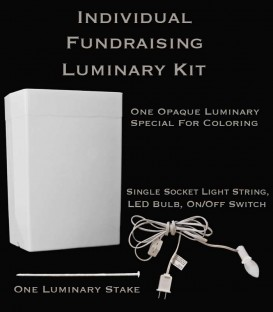 Individual Fundraising Luminary Kit
