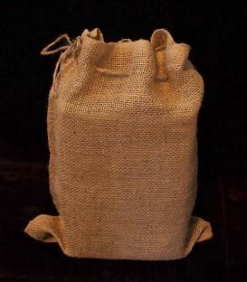 Set of 6 Snug Burlap Bags