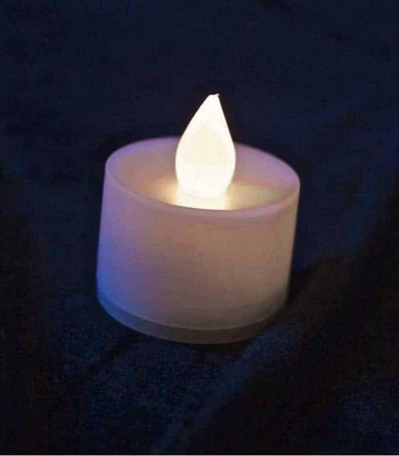Warm White LED Tealight
