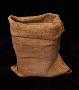 Loose Burlap Bag in Daylight