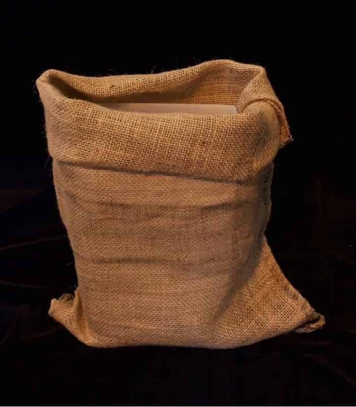 a few days away well known new styles Set of 12 Loose Burlap Bags
