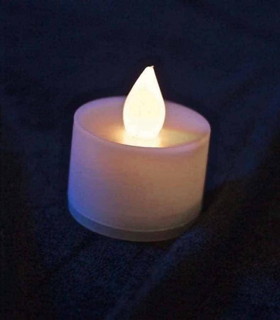 Individual Warm White LED Tealight