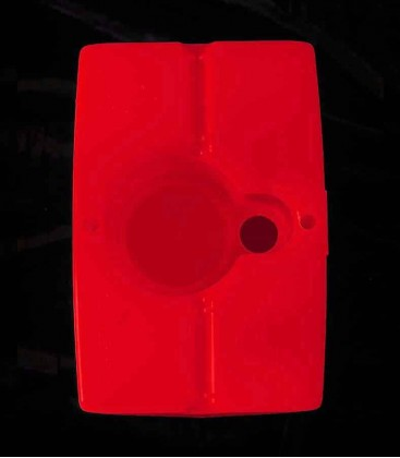 View of Red Luminary bottom
