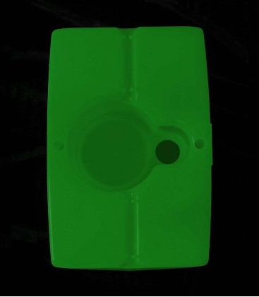 View of Green Luminary bottom
