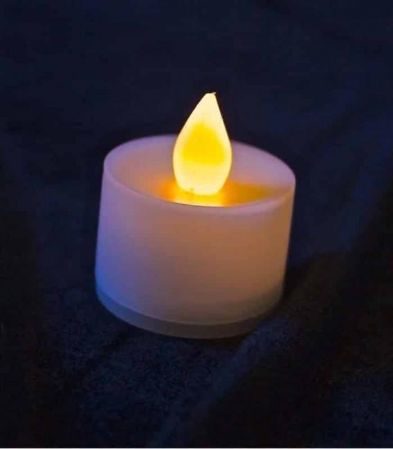 Amber LED Tealight