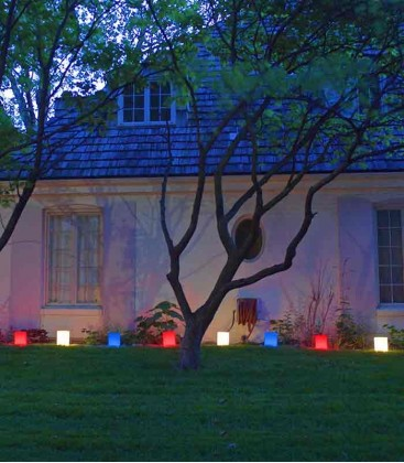 Set of 12 Patriotic Luminaries