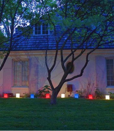 Patriotic Luminaries (with Blue)