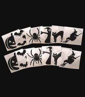 Set of 12 Halloween Decals