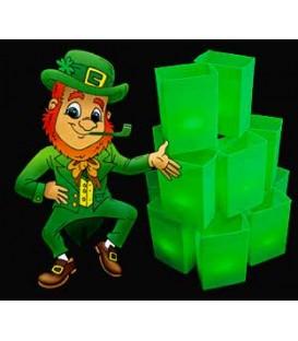St. Patrick's Day Luminaries