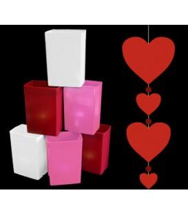Valentine's Day Luminaries