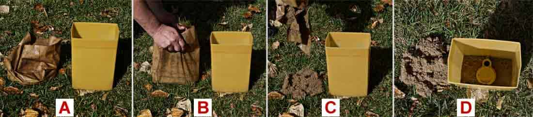 compare wet paper and plastic luminaries