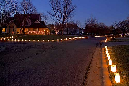 more homeowner association luminaries