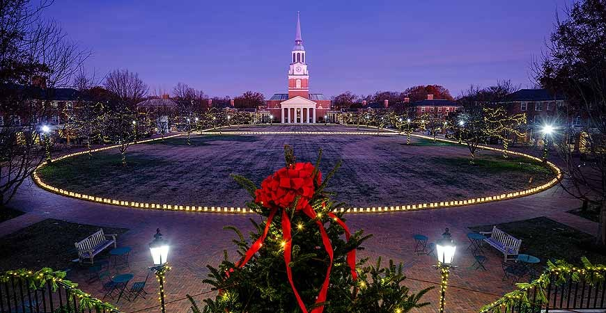FLIC Lights the Wake Forest Campus Bringing Joy and Sustainability