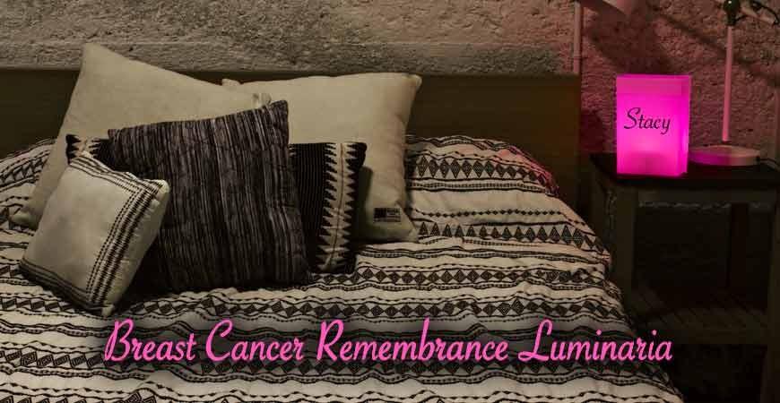 Breast Cancer Remembrance Luminaria