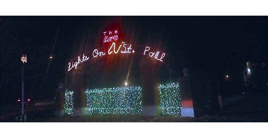 The Arc's Lights on St. Paul