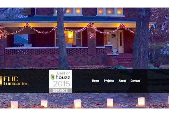 """FLIC Luminaries Named """"Best of Houzz"""""""